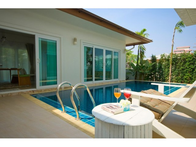 Jasmina Pool villa at seabreeze Pattaya