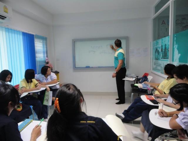 เรียนภาษาอังกฤษกับอาจารย์ชาวต่างชาติ