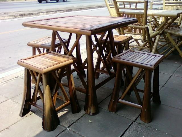 โต๊ะไม้ทำจากไม้ตาลราคาถูกแข็งแรงทนทาน